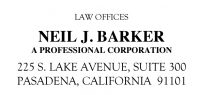 Law Offices of Neil J. Barker Logo