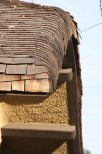 Freeman House Roofline